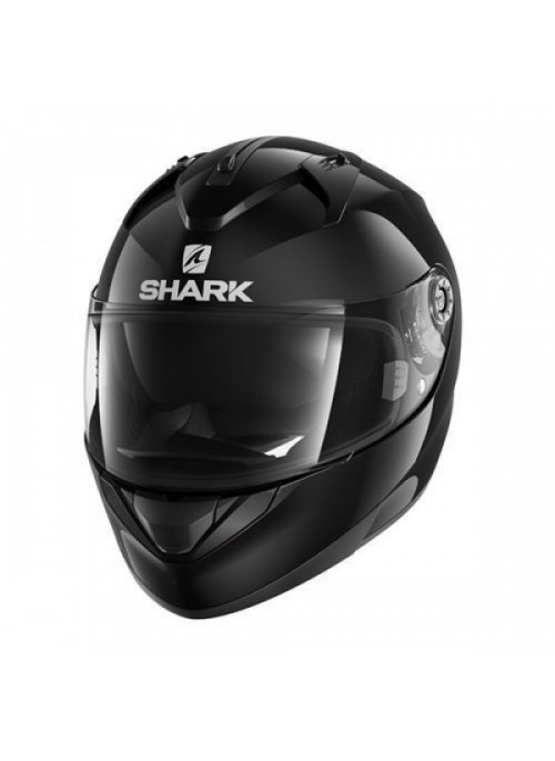 Casco integrale Shark Ridill Blank nero lucido