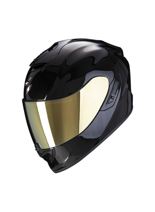 SCORPION Casco Moto Strada Integrale EXO-1400 Air Solid Nero