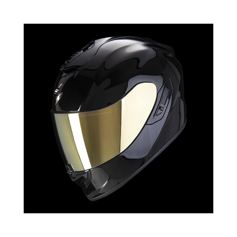 SCORPION Casco Moto Strada Integrale EXO-1400 Air Solid Nero