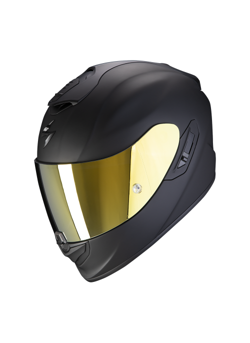 SCORPION Casco Moto Strada Integrale EXO-1400 Air Solid Nero Opaco