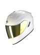 SCORPION Casco Moto Strada Integrale EXO-1400 Air Solid Bianco