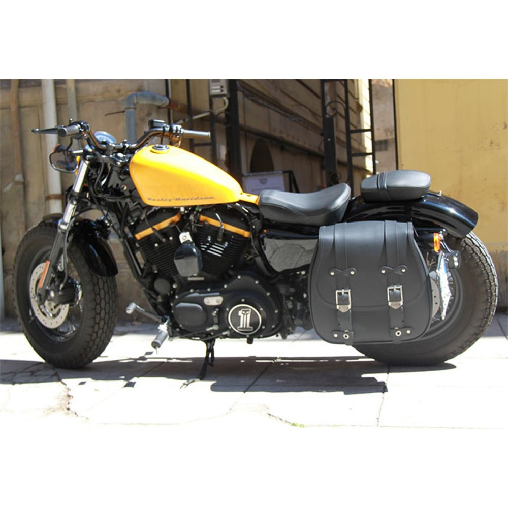 d4e3981eb6 Monoborsa mono borse moto incavo pelle moto guzzi california custom grande