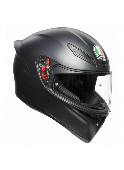 Casco integrale Agv K1 Solid Nero Opaco
