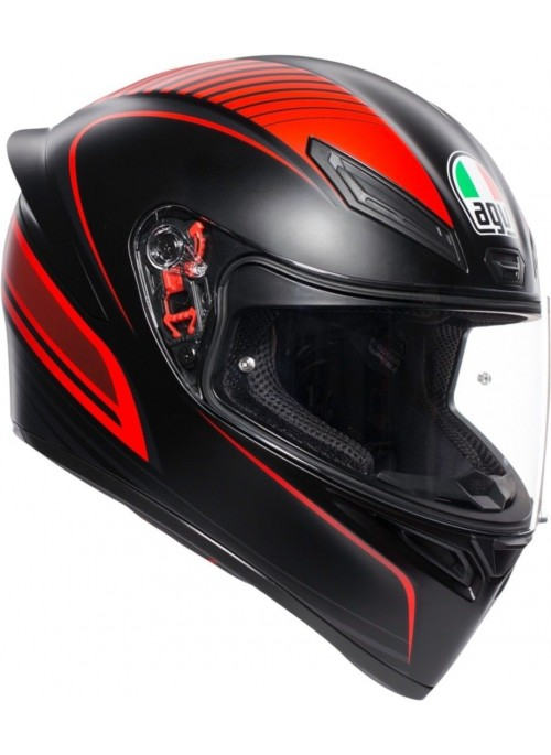 Casco integrale Agv K1 Warm Up Rosso