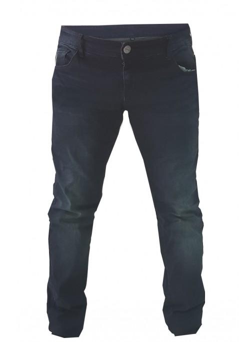 Pantaloni moto Uomo Jeans Denim Blu Protezioni Kevlar Omologate CE rinforzati