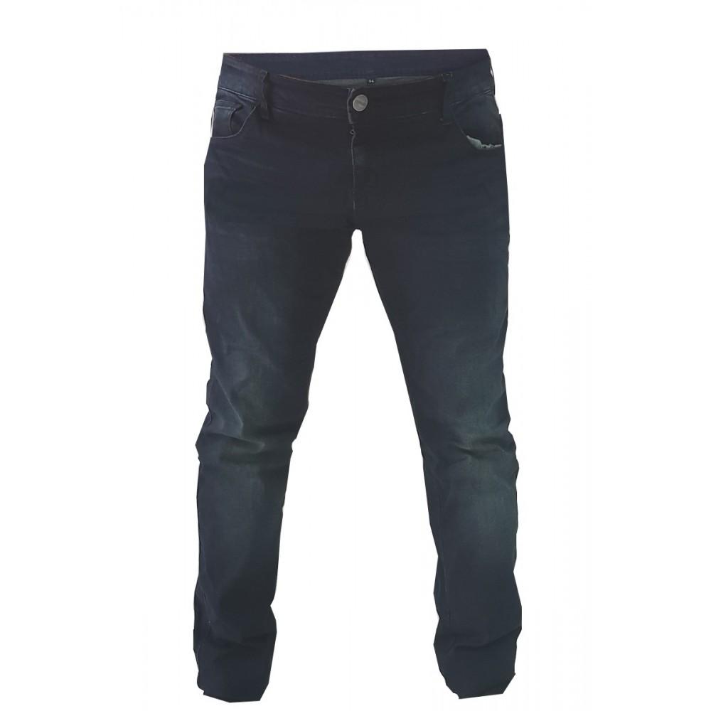 Pantaloni moto Uomo Jeans Denim Blu Protezioni Omologate in ITALIA Aramide