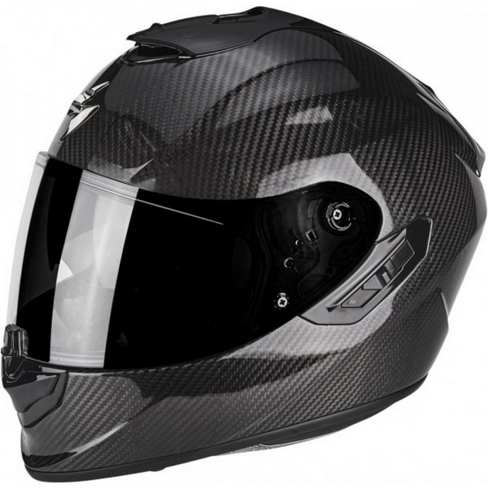 SCORPION Casco Moto Strada Integrale EXO-1400 Air Carbon Espirit Nero-Blu