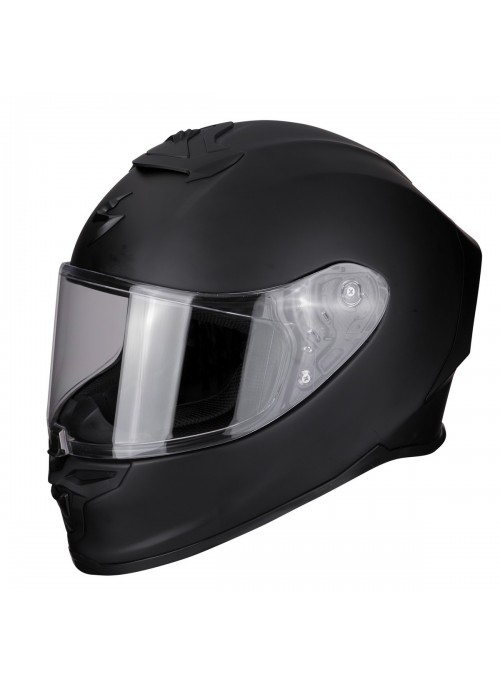 Casco integrale Scorpion EXO- R1 Air Solid Nero Opaco