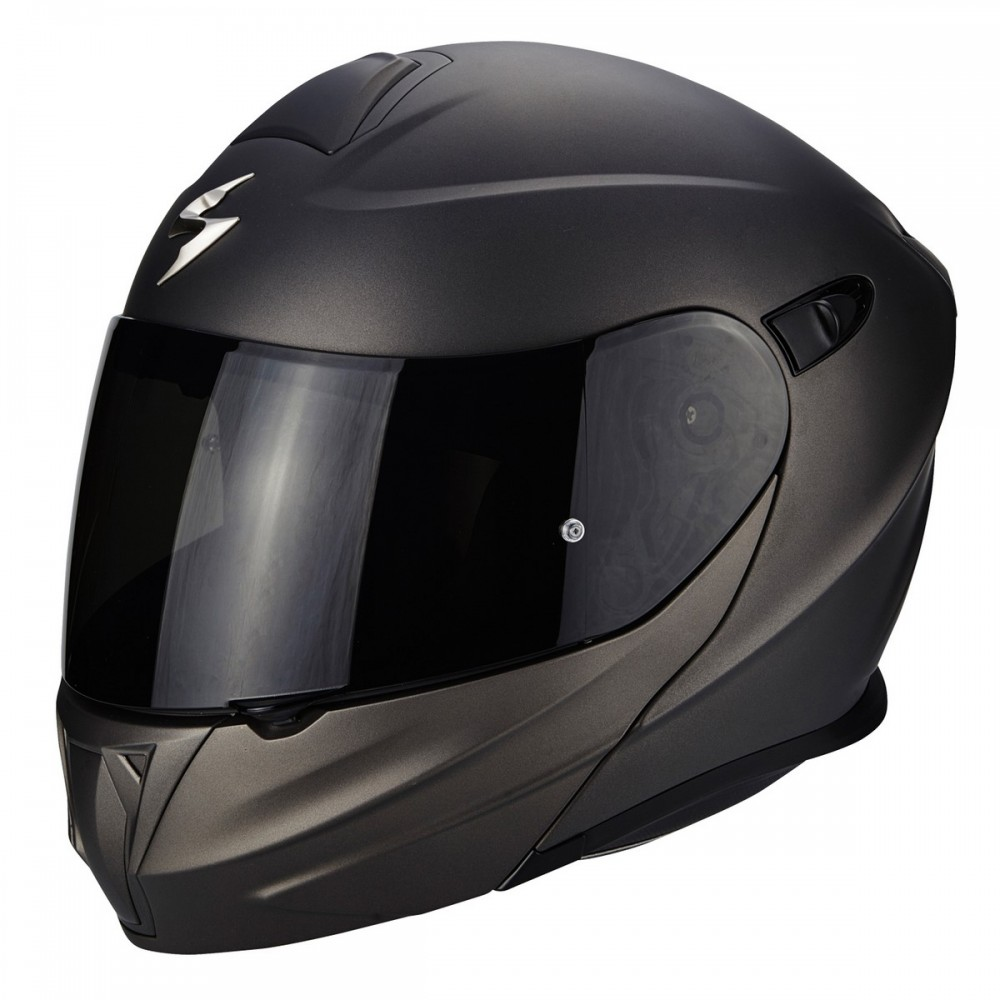SCORPION Casco Moto Strada Integrale EXO-1400 Air Carbon Espirit Nero-Blu