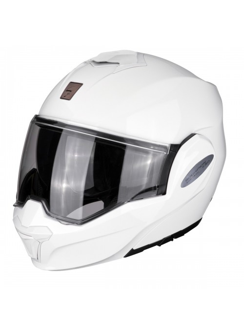 Casco Modulare Scorpion Exo Tech Solid Bianco