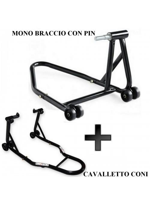 Cavalletto Moto Monobraccio + Anteriore Cono Ducati Multistrada 1200 PIN 40.5